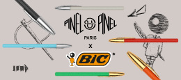 Discover our exclusive Bic x Pinel et Pinel collection. Our iconic Bic Cristal gets all leather dressed up with punchy colors  !