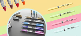 Make it personal with our permanent markers !