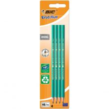 BIC Evolution Original HB Graphite Pencils - Pack of 4