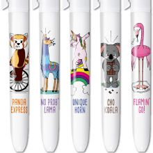 BIC 4 Colours Limited Edition Floral art - Box of 5 Pens