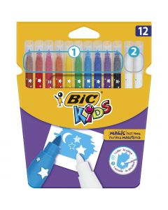 BIC Kids  Magic Feutres de Coloriage Magiques - Couleurs Assorties