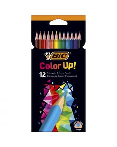 BIC Color Up Crayons de Couleur - Coloris Assortis