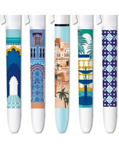 BIC 4 Colours Limited Edition Marrakech - Box of 5 Pens